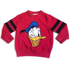 Baby Gap Disney Donald Duck Sweater